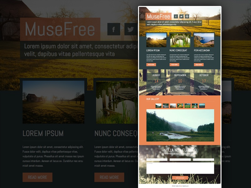 Download Muse Theme Template adobe muse muse theme free download web tempaltes