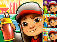 Subway Surfers app icons