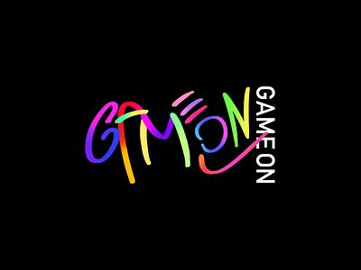 GameOn Logo Exploration photoshop branding vector design app typography logo art visual design illustration