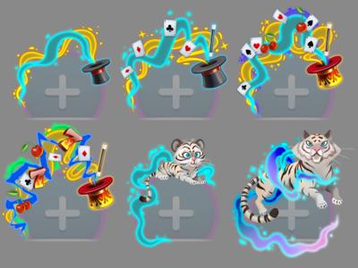BFC Premium Avatar Frame casino photoshop art character illustration art aniamtion visual design illustraion