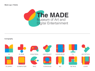 MADE Logo Explorations icon art design typography vector ui logo visual design branding and identity