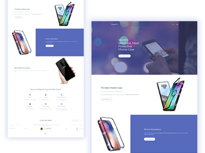 Website design improvements phone case cases galaxy s9 iphonex iphones photo manipulation re design webdesign clean design