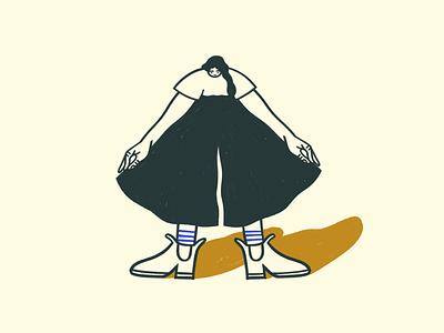 Linen pants pose 1