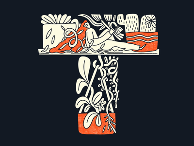 36 Days of Type // Letter T