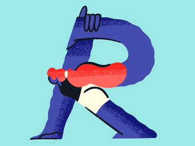 36 Days of Type // letter R