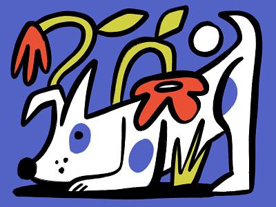 Dogs man textures characterdesign digitalillustration colourful design illustrator illustration