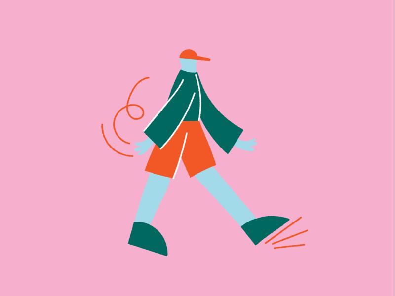 Stridey stride editorial wacky characterdesign digitalillustration colourful illustrator design illustration