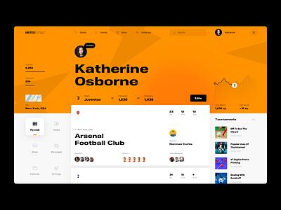 United Futsal profile game analytics data football