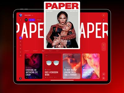 Mav Farm 2.0 web paper news homepage interface iphone ipad