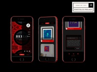 Design Portfolio 2 blog card badge contact form website web ux design typography illustration motion graphic ui
