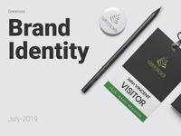 Greenora Holidays Brand Identity brand design identity branding digitalart art icon app ux flat animation logo vector ui typography print poster interior illustration graphic design