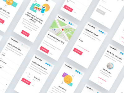 Galicia Move — Sign up form design ux ui web illustration form input steps flow register signup