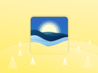 Waking Up Alarm Icon