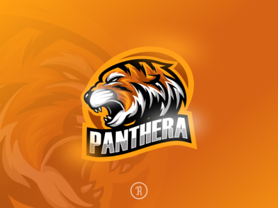 Panthera tiger sport logo illustration twitch dota2 csgo fortnite brand team vector design art illustration stream gaming game esport sport logo mascot head tiger angry