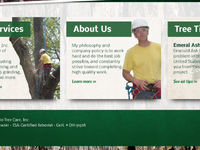 Ohio Tree Care website redesign