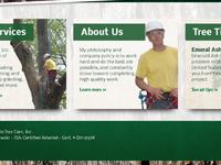Ohio Tree Care website redesign