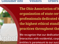OAM website redesign