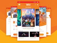 Tokofilm UI Mobile