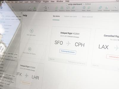 Dashboard v1 ux ui clean minimalism dashboard product white flights app web