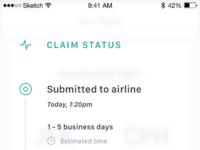 Claim status   long