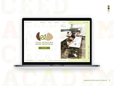 Website for Ceed Academy
