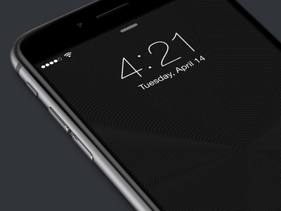 Carbon parallax wallpaper for iPhone 6