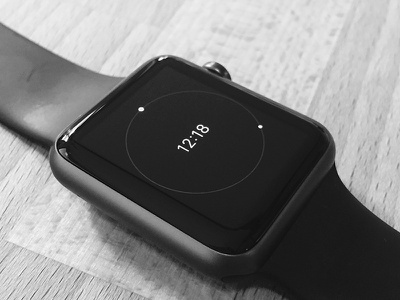 Minimal Face for Apple Watch time sport concept face watch apple