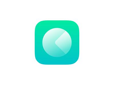 Icon Concept superellipse ios icon app teal blue green