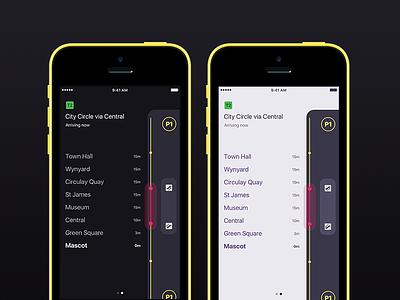 🚆Sydney Trains Info – Visual Platforms way finding app subway train transport transit