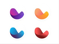 'Flow' logo study