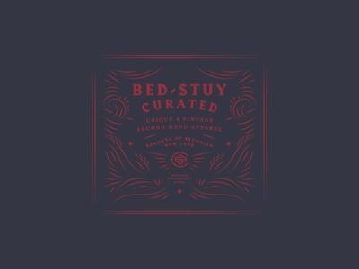 BSC wip flourish typography logo design brand