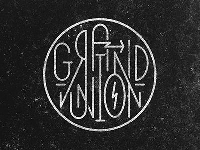 Grand Union logo design identity
