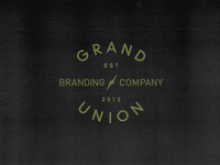 Grand Union logo process