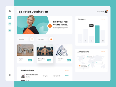 Real Estate and Co Working Space Dashboard cms agency website office website building modern uiux management workspace workspace dashboard real estate coworking space dashboard design frontend website uidesign ui