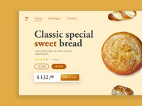 Bread Shop Landing Page