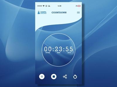 Timer UI Design #dailyui 1