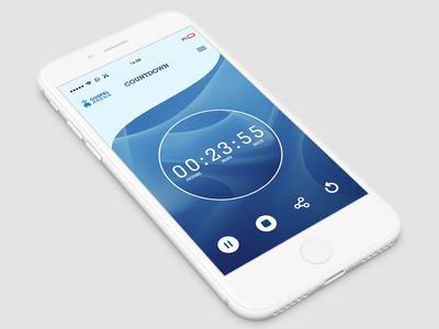 Timer UI Design #dailyui Mockup