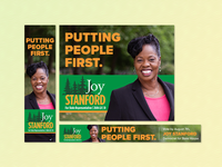 Politician Web Banners