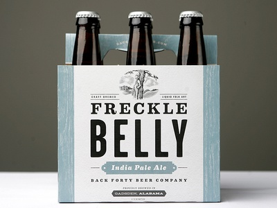 Back Forty Beer Company - Freckle Belly freckle belly pale ale south gadsden alabama back forty beer company brewery craft beer beer