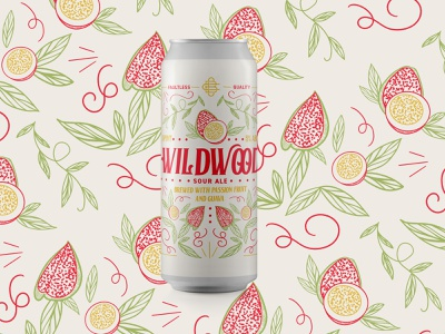 Wildwood Sour Ale chattanooga brewing chatt fruit fruit beer sour beer ttb guava passion fruit sour beer chattanooga cbc