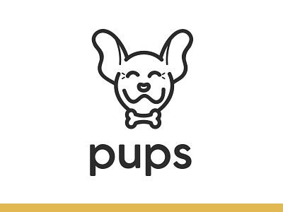 #ThirtyLogos Day 15 - Pups pup logo puppy logo dog logo dog puppy pups thirty logos thirtylogos