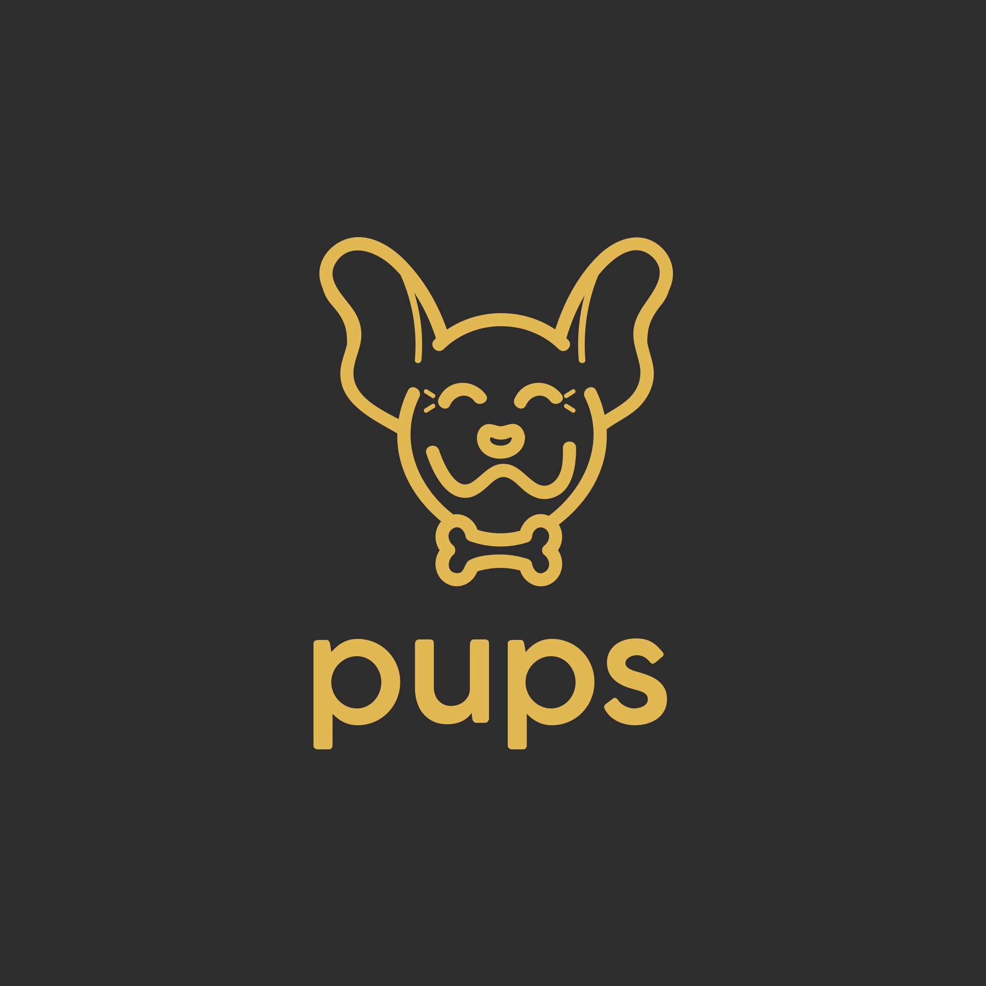 015 pups yellow