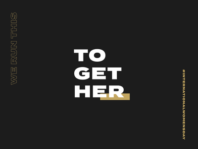 Together - International Women's Day