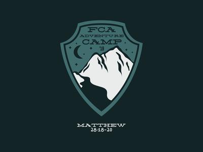 FCA Adventure Camp Emblem