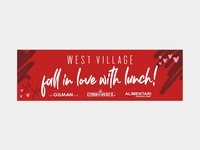 Fall In Love With Lunch West Village Billboard