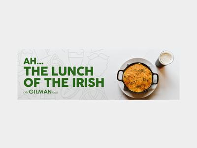 The Lunch of the Irish West Village Billboard