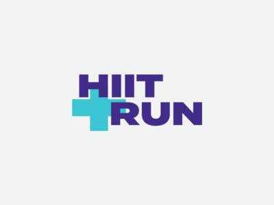 HIIT + Run Logo