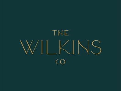 The Wilkins Co Logo Design