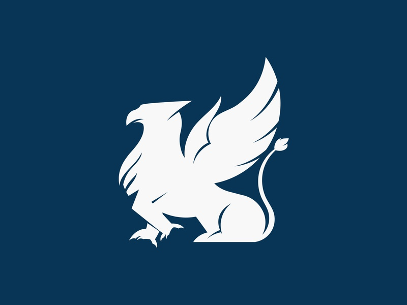 Griffin Logo illustration chattanooga logo design unused griffin logo