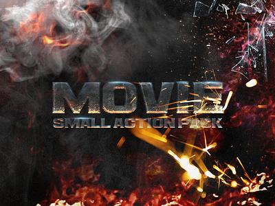 Movie Pack PSD FREE styles movie fire flares smoke free freebie psd